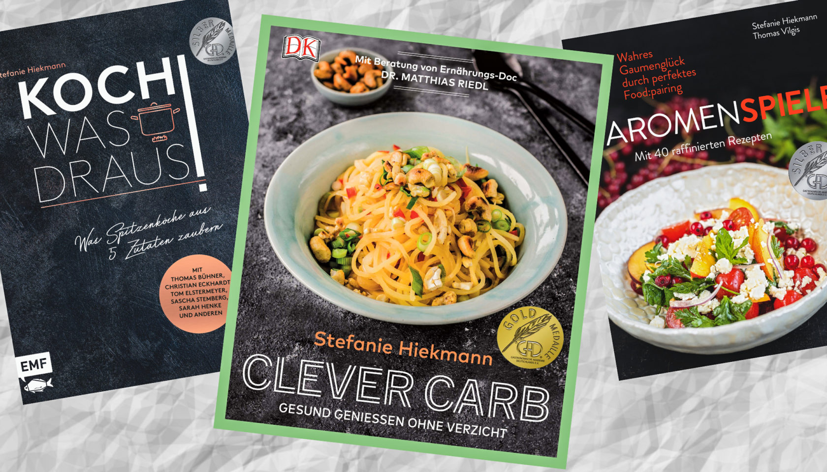 Kochbuch Clever Carb Gold GAD